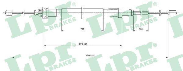 Lpr Handremkabel C1686B