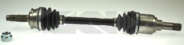 Gkn-lobro Aandrijfas 303654