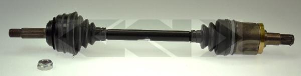 Gkn-lobro Aandrijfas 301470