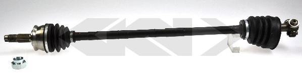 Gkn-lobro Aandrijfas 304369