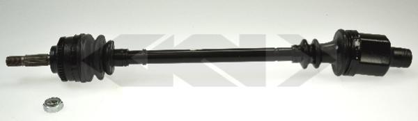 Gkn-lobro Aandrijfas 304973