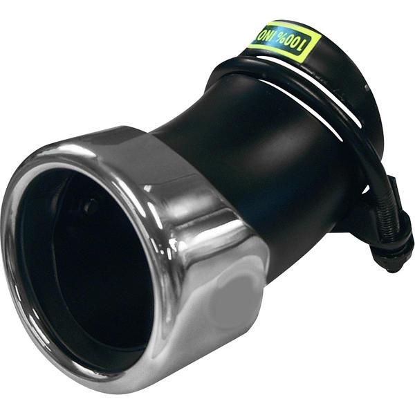 Mijnautoonderdelen Uss Inox Round 76mm Adjust. 45-55mm AS 653